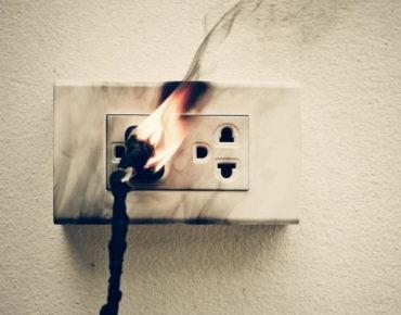 Короткое замыкание-причина пожара!
