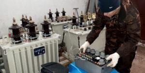 Проверка высоковольтных трансформаторов