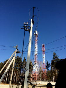 Строительство линий электропередач Иркутск