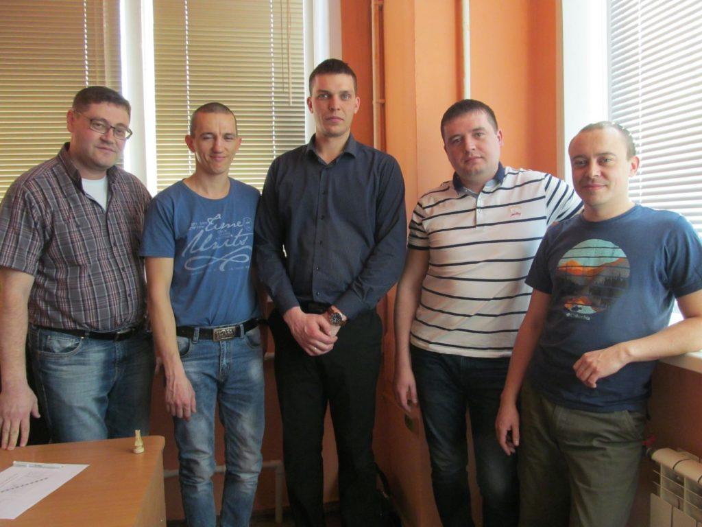 Шахматный турнир ИркутскСетьсервис